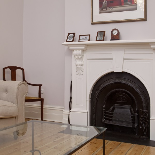 Hyde Park - Fireplace