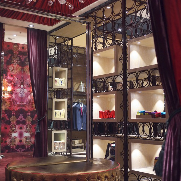 Ted Baker - Changing Rooms